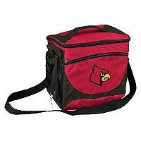 Logo Brand Louisville Cardinals 24-Can Cooler