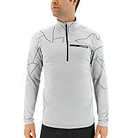 Men's adidas Outdoor climawarm Terrex Logo Performance Half-Zip Pullover
