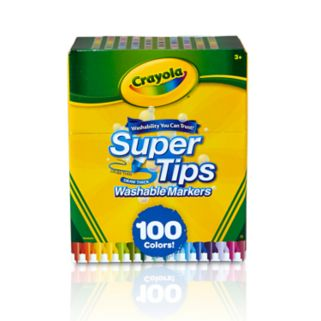 Crayola 100-pk. Supertip Markers