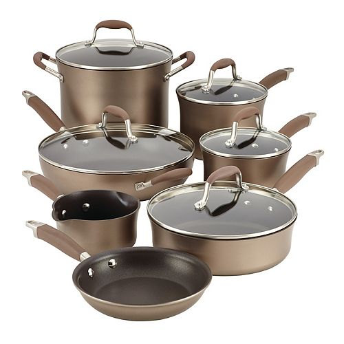 Anolon Advanced Bronze 12-pc. Cookware Set