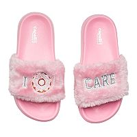 Girls 4-16 Donut Slide Sandals