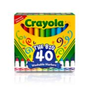 Crayola 40-pk. UltraClean Washable Markers