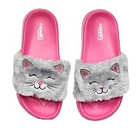Girls 4-16 Cat Slide Sandals