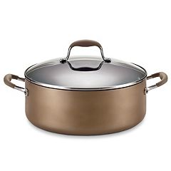 Anolon Advanced Bronze 7.5-qt. Covered Wide Stockpot