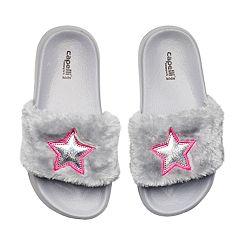 Girls 4-16 Star Slide Sandals