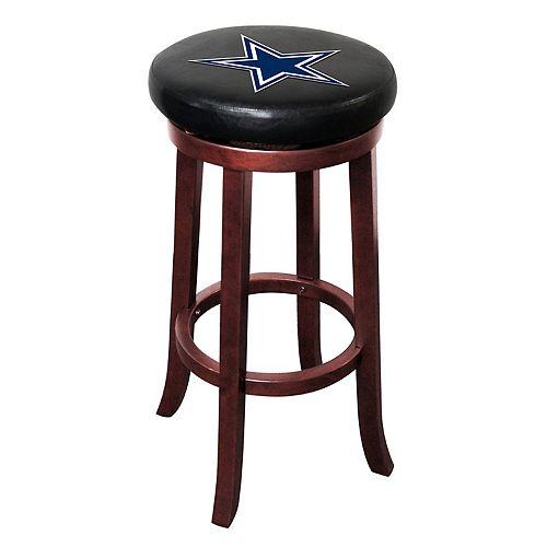 Dallas Cowboys Wooden Bar Stool