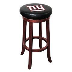 New York Giants Wooden Bar Stool