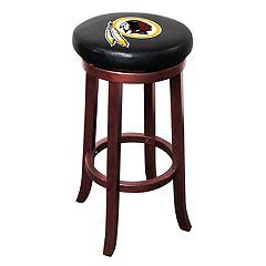 Washington Redskins Wooden Bar Stool