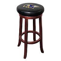 Baltimore Ravens Wooden Bar Stool