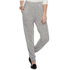 Women's Juicy Couture Embellished Trim Midrise Jogger Pants