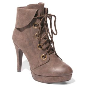 2 Lips Too Too Lonni Women's High Heel Ankle Boots