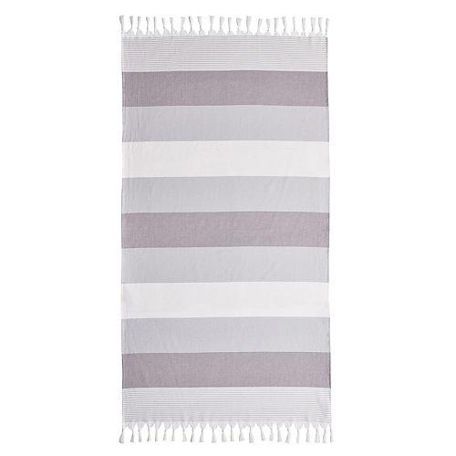 Linum Home Textiles Sea Waves Pestemal Beach Towel
