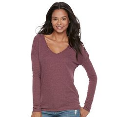 Juniors' SO® Double Bar V-Back Tunic