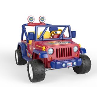 Power Wheels Wonder Woman Jeep Wrangler