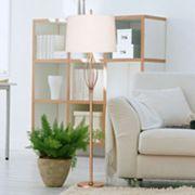 Catalina Lighting Ivy Antique Finish Floor Lamp