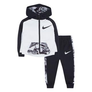 Baby Boy Nike Therma-FIT Zip Hoodie & Pants Set