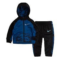 Baby Boy Nike Therma-FIT Zip Hoodie & Pants Set
