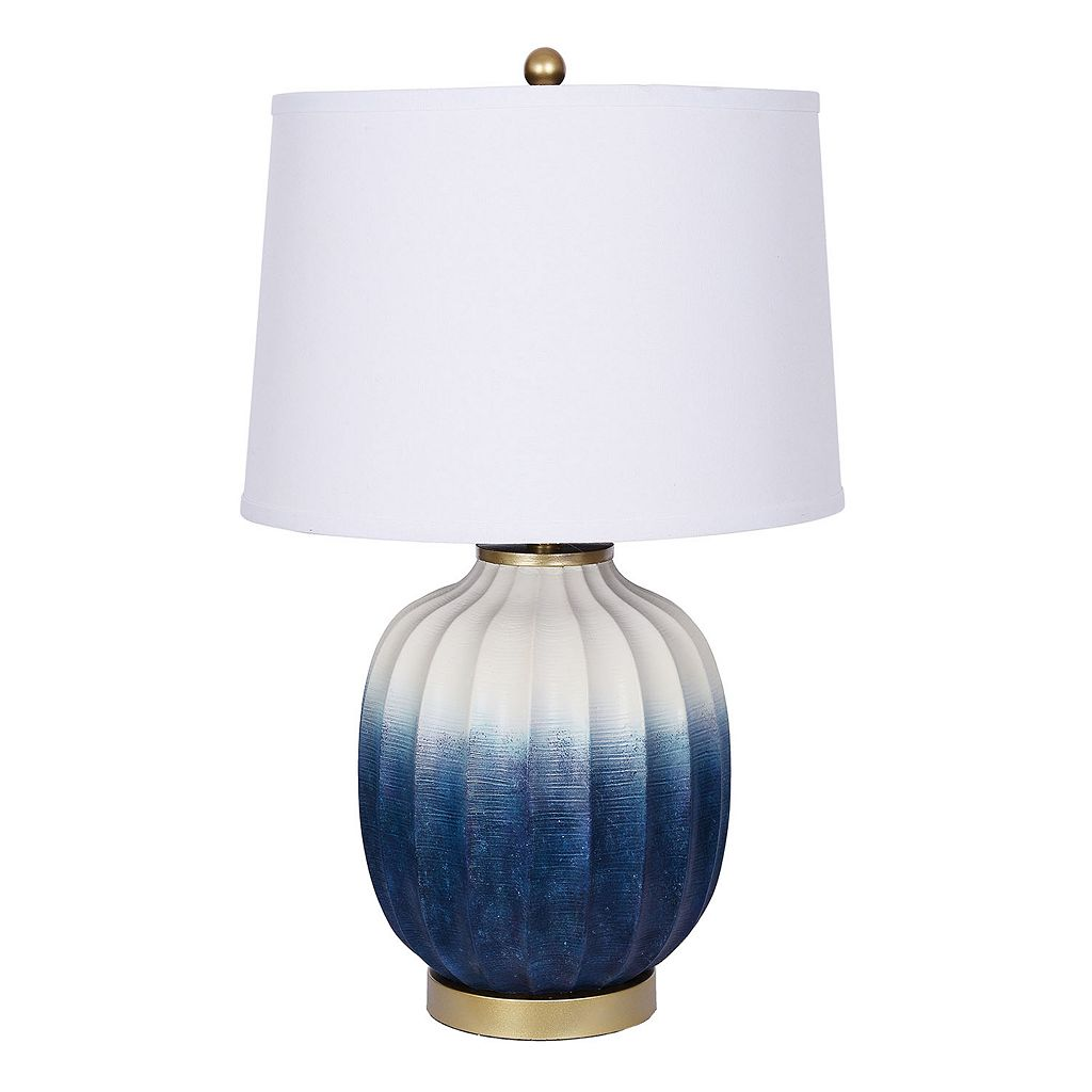 Catalina Lighting Blue Ombre Table Lamp