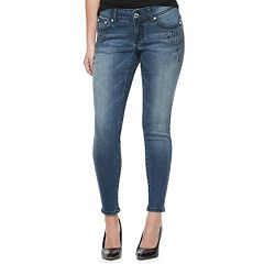 Women's Apt. 9® Embellished Modern Fit Skinny Jeans