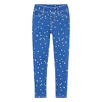 Girls 4-6x Levi's® Haley May French Terry Polka Dot Knit Leggings