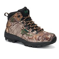 Itasca Dexterity Real Tree Camouflage Men's Waterproof Hiking Boots