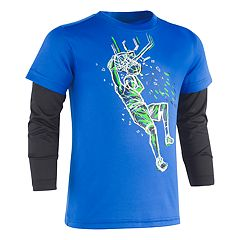 Boys 4-7 Under Armour Basketball Dunk Mock Layer Tee