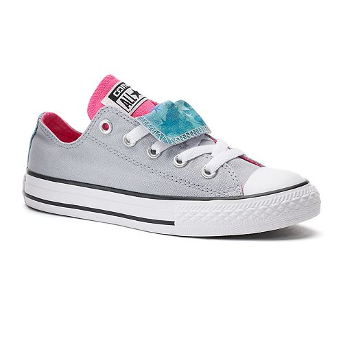 4ba8b9174be7fb Kid s Converse Chuck Taylor All Star Print Double-Tongue Shoes