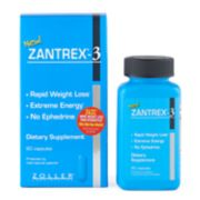 Zantrex-3 Rapid Weight Loss Dietary Supplement - 60 ct.