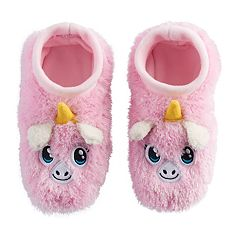 Girls 4-16 Unicorn Slipper Socks