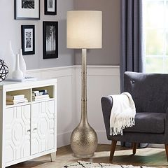 Catalina Lighting Hammered Floor Lamp