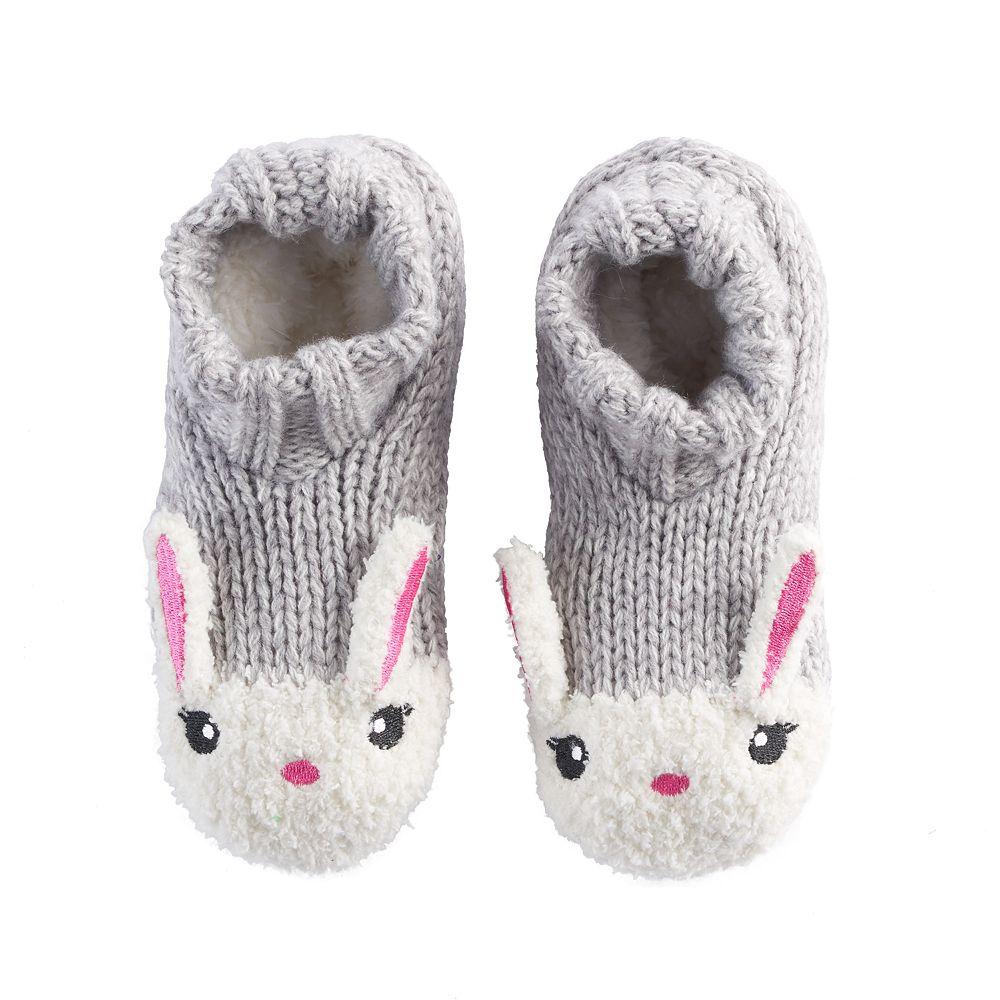 2caf58cd6a Girls 4-16 Bunny Rabbit Slipper Socks