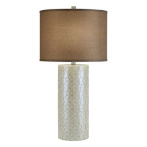 Catalina Lighting Iridescent Table Lamp
