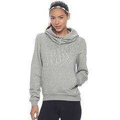 Women's Nike Funnel Neck Running Hoodie