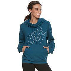 Women's Nike Funnel Neck Running Hoodie