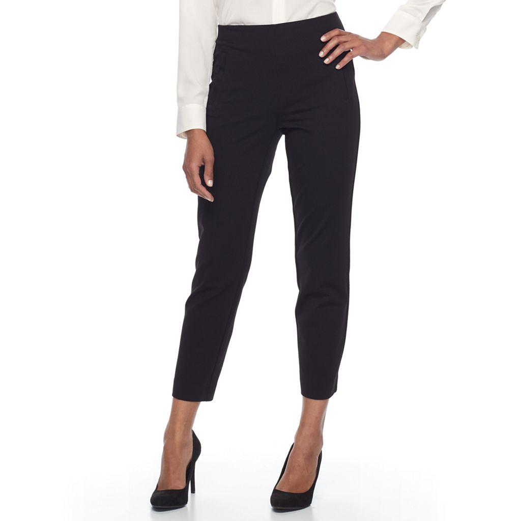 Women's Dana Buchman Ponte Ankle Dress Pants