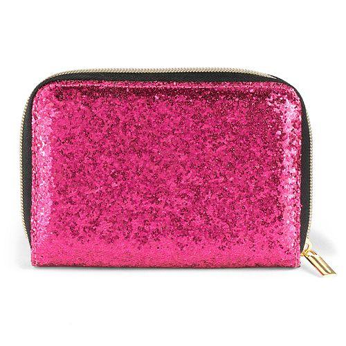 Tri-Coastal Design Glitter Travel Makeup Brush Kit