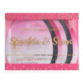 Lila Grace 6-pk. Sparkle & Shine Face Masks