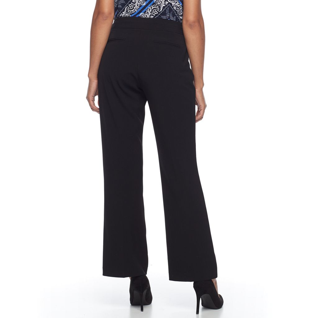 Women's Dana Buchman Pull-On Curvy Dress Pants