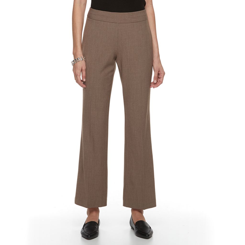 Women's Dana Buchman Pull-On Curvy Dress Pants