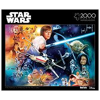 Star Wars The Force Is Strong With This One 2000 pc Puzzle by Buffalo Games