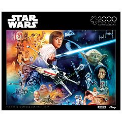 Star Wars The Force Is Strong With This One 2000 pc. Puzzle by Buffalo Games