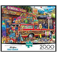 Aimee Stewart Family Vacation 2000 pc Puzzle by Buffalo Games