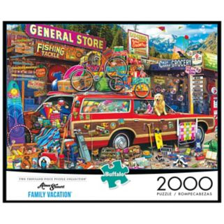 Aimee Stewart Family Vacation 2000-pc. Puzzle by Buffalo Games