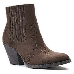 SO® Network Women's Western Ankle Boots