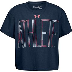 Girls 7-16 Under Armour 'Athlete' Tee