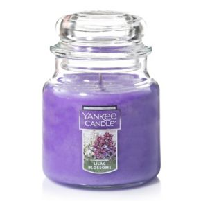 Yankee Candle Lilac Blossoms 14.5-oz. Candle Jar
