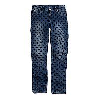 Girls 7-16 Levi's Polka-Dot Skinny Jeans