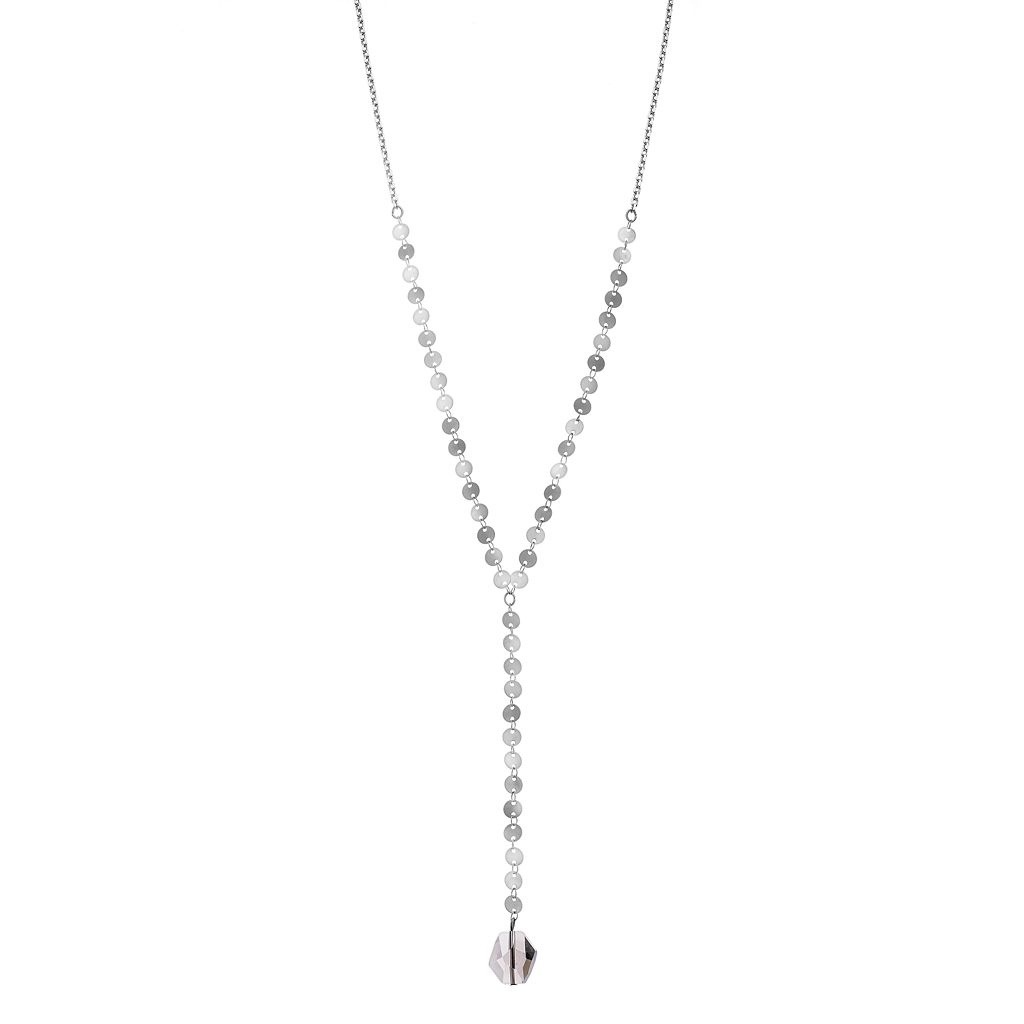 Simply Vera Vera Wang Disc Y Necklace