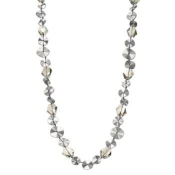 Simply Vera Vera Wang Beaded Disc Long Necklace