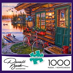 Darryl Bush Summertime 1000 pc Puzzle by Buffalo Games